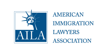 AILA logo, transfers to external website