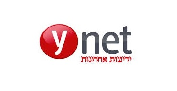 Ynet logo, transfers to external website