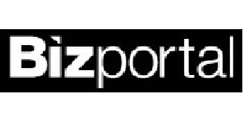 Bizportal logo, transfers to external website