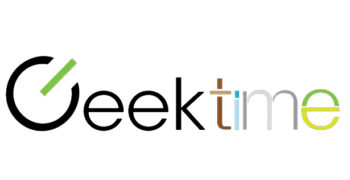 Geektime logo, transfers to external website