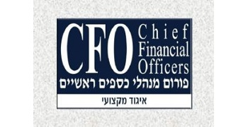CFO Forum logo, transfers to external website