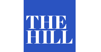 the hill logo, transfers to external website