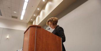 Shirin Herzog speaking