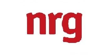 NRG logo, transfers to external website