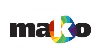 Mako logo, transfers to external website