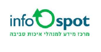 Infospot logo, transfers to external website