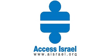 Access Israel logo, transfers to external website